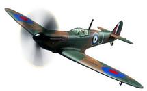 Spitfire Mk I RAF No.92 Sqn, P9374, Peter Cazenove, Calais, France, 1940