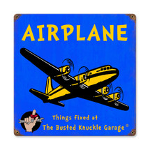 """Kids Airplane"" Pasttime Signs"