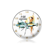 """""""P-38 Nude Clock"""" Pasttime Signs"""