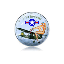 """L-19 Bird Dog Clock"" Pasttime Signs"