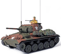 M24 Chaffee US Army 117th Cavalry Reconnaissance, Germany, 1945, w/1 Figure