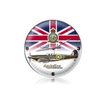 """Spitfire Union Jack Clock"" Pasttime Signs"
