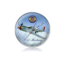 """""""P-51 8th Airforce Clock"""" Pasttime Signs"""