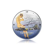 """""""B-17 Nude Clock"""" Pasttime Signs"""