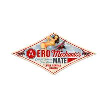 """Aero Mechanic"" Pasttime Signs"