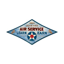 """Air Service"" Pasttime Signs"