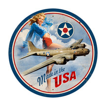 """USA B17 Large"" Pasttime Signs"