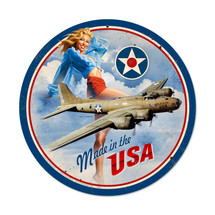 """USA B17"" Pasttime Signs"