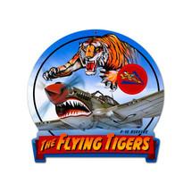 """Flying Tiger"" Pasttime Signs"