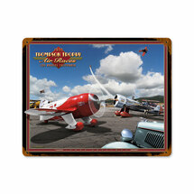 """Air Races 1933 Rectangle"" Pasttime Signs"