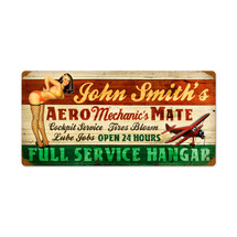 """Aero Mechanics Mate"" Pasttime Signs"