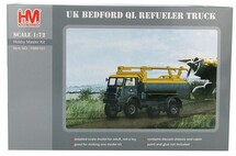 Bedford QL Aircraft Refueler Die Cast Metal Kit