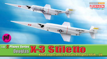 Douglas X-3 Stiletto, NACA Supersonic Research Flights 1954-56 (Contain 2 replicas)