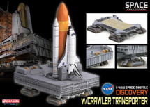 """Space Shuttle """"Discovery"""" w/Crawler Transporter (Space)"""