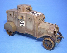E-V/4 Panzerkraftwagen Ehrhardt, German Armoured Car (2pcs)
