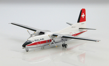 "Balair Fokker F-27 Friendship - ""HB-AAU,"" 1970s"