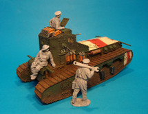 "Medium Mark A, Whippet Tank, ""MUSICAL BOX"" A/6 344 , Amiens Offensive"