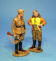 Pilot and NCO of Luftwaffe Signals Unit (2pcs)