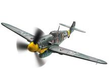 Bf109G-2, Yellow 1, Oberleutnant Hermann Graf