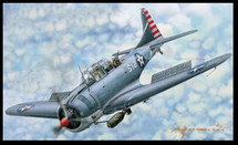 "SBD-3/4 ""Dauntless"" Dive Bomber, Early / Late Version (Model Kit)"