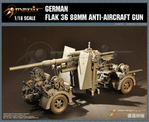 German Flak 36 88mm Anti Aircraft Gun (Model kit)