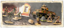 M4A1 Sherman & Soldier Set, U.S., France, 1944 (new paint & pkg)