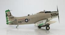 """AD-6 Skyraider - VA-85 """"Black Falcons,"""" USN, USS Forrestal, 1959"""