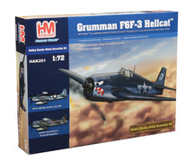 Grumman F6F-3 Hellcat (Kit) - U.S. Navy (3 decal options)