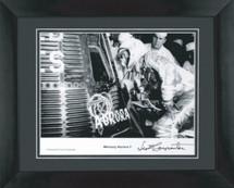 Mercury Aurora framed photograph signed by Astronaut Scott Carpenter