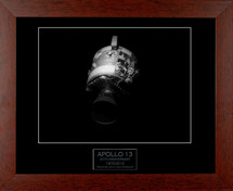 Apollo 13 framed photograph - 40th Anniversary Edition