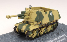 Hotchkiss 10.5cm leFH 18 auf 39H German Army 21.PzDiv, Normandy, France, June 1944