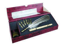 Feather Pen Set Authentic Models
