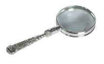 Rococo Magnifier, Silver Authentic Models