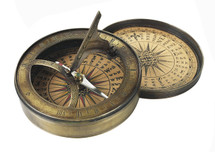 18th C. Sundial & Compass Authentic Models