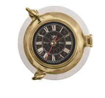 Porthole Clock, Aluminum Authentic Models