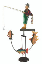 Fly Fisherman Sky Hook Authentic Models