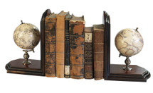 Globe Bookends Authentic Models