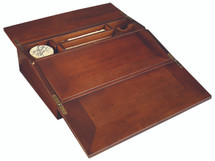 Campaign Lap Desk, French Finish Authentic Models