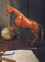 Large Artist Horse Authentic Models