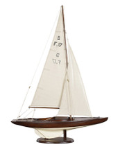 Dragon Olympic Sail Racer, French Finish Authentic Models