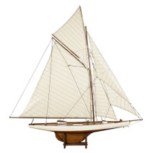 America's Cup Columbia 1901, Med. French Finish Authentic Models