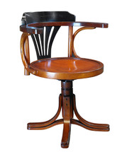 Purser's Chair, Black Authentic Models