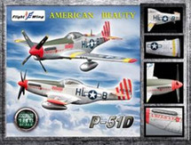 "P-51D Mustang - WWII USAF 31st Fighter Group ""American Beauty"""