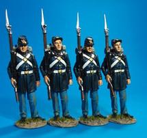 Union Marine Corps - 4 Figures Standing