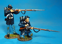 US Marines 1861-65, 2 Figures Loading and Firing #1