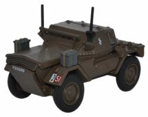 Dingo Scout Car British Army 10th Armored Cavalry Bgd, England