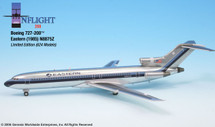 Eastern Airlines Boeing 727-200 Polished Livery