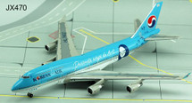 "Korean Air 747-400 ~ HL7402, Passionate Wings to Art ""Mona Lisa"""