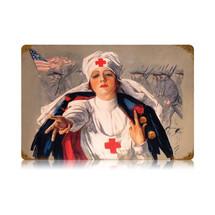Nurse Vintage Metal Sign Pasttime Signs