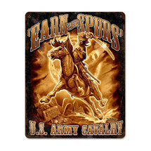 Army Cavalry Pasttime Signs